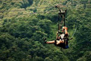 Zip Flying in Nepal
