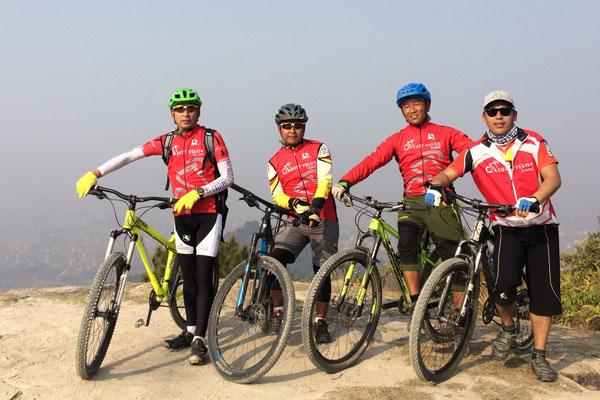 Cycling Tour Around Kathmandu Valley