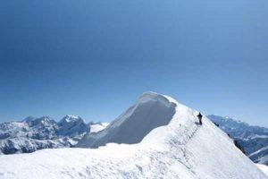 Chulu East Peak (6584m) Climbing