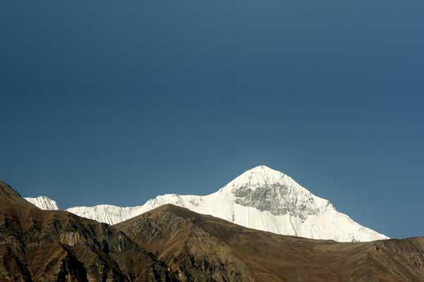 Dhampus Peak (6012m) Climbing