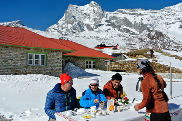 Everest Panorama Luxury Trek with Kongde