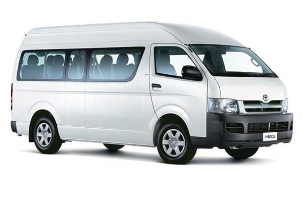 Hiace/Mini Bus